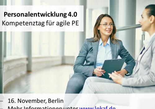 Personalentwicklung 4.0 – Kompetenztag für agile PE